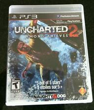 Uncharted 2 Among Thieves Sony PlayStation 3, 2009 Game PS3 Fortune Hunter Blood