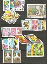 MONGOLIA  SETS: Sports Animals Thematic  - Big Poster Stamps