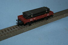 Marklin 4423 DB Flat Car with Pipe Load