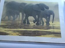 """""""BY THE RIVER"""" LIMITED EDITION PRINT BY ROBERT BATEMAN"""