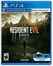 BRAND NEW Resident Evil 7 Biohazard Sony PlayStation 4 PS4 Factory Sealed!
