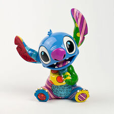 "Disney by Romero Britto Lilo & Stitch Pop Art Figurine 4030816 7.6"" NIB NEW"