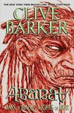 Abarat: Days of Magic, Nights of War 2 by Clive Barker (2011, Paperback)