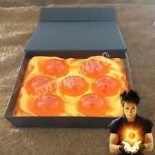 NEW Very large DRAGON BALL Z Set of 7 Seven Stars New In Box Crystal Ball