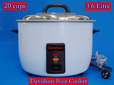 Davidson Commercial Rice Cooker with Keep Warm 20cups/3.6L (Non Stick inner Pot)