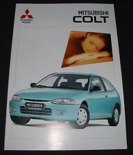 Auto Prospekt Mitsubishi Colt Typ CAO Stand März 1996
