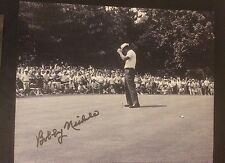 Bobby Nichols PGA Golf Signed 8 X 10 Photo Autographed
