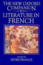 The New Oxford Companion to Literature in French by