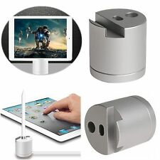 2in1 Aluminium Charging Dock Station Stand Holder For Apple Pencil & iPad iPhone