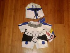 BUILD A BEAR FACTORY  RARE STAR WARS STORM TROOPER COSTUME BNWT