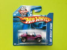 Hot Wheels MEYERS MANX violet HW 2008 vw buggy - Y419