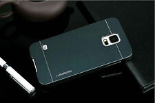 COVER MOTOMO IN ALLUMINIO SPAZZOLATO-BRUSHED PER SAMSUNG GALAXY S5