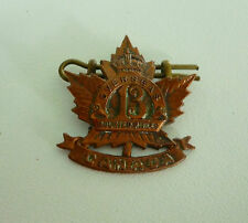 WW1 Canadian Expeditionary Force Cap Badge 13th Mounted Rifles Medicine Hat