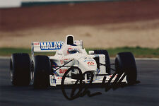 Jan Magnussen Signed Photo  1997 Stewart SF01 Signed by Jan