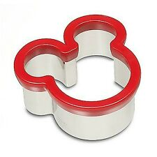 Mickey Mouse Icon Cookie Sandwich Biscuit Cutter Disney World Theme Parks NEW