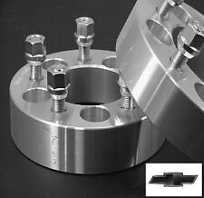 4 pc CHEVY S10 5X4.75 | BILLET WHEEL ADAPTERS | SPACERS | 1.50 Inch # 5475C1215