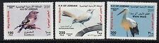 BIRDS :2002 JORDAN Birds set+ M/Sheet  SG2031-3+MS2034 never-hinged mint