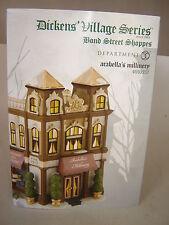 Dept 56 Dickens Village - Arabella's Millinery - Bond Street Shoppes - NIB