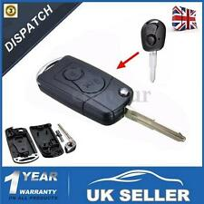 2 Buttons Flip Remote Key Case Fob Shell For Ssangyong Actyon Kyron Rexton -UK