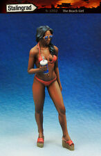 1/35 Scale resin model kit The Beach Girl #2