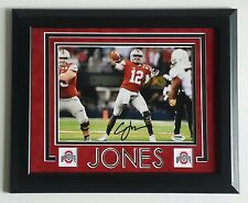 Cardale Jones Signed Autographed 8x10 Ohio State University Framed PSA DNA