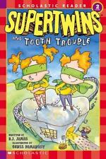 Supertwins and Tooth Trouble (Scholastic Reader Level 2) B. J. James Paperback