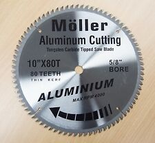 "10"" x 80T Aluminum Cutting TCT Saw Blade"