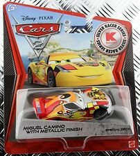 Disney Cars 2 Kmart K-Days 9 Silver Racer Series Metallic Finish Miguel Camino