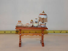 Reutter Table Jelly Roll Dollhouse Miniature Kitchen Shop Room Box RETIRED Prep