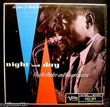 "CHARLIE PARKER-NIGHT AND DAY Jazz Album-VERVE ""CLEF SERIES"" #MGV-8003 mono"