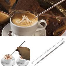 Acero Inoxidable Pluma Herramienta Maquina De Espresso Cafe Cocina Oficina