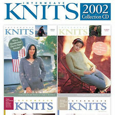 4 Issues on CD: INTERWEAVE KNITS MAGAZINE 2002 Complete