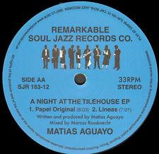 MATIAS AGUAYO - A Night At The Tilehouse EP - Soul Jazz