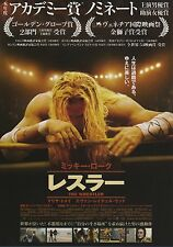 The Wrestler - Original Japanese Chirashi Mini Poster - Darren Aronofsky