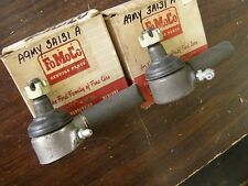 NOS OEM Ford 1956 1957 1958 Mercury Tie Rod Ends Monterey Montclair Park Lane