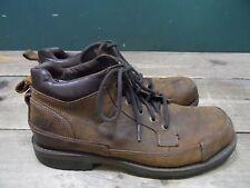 Para hombres Cuero Tostado Skechers embates regiones Botas Uk Size 10