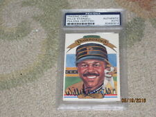 Willie Stargell AUTOGRAPHED Trading Card PSA Certified