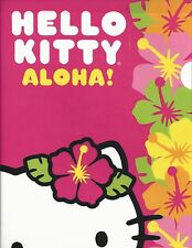 Sanrio Hello Kitty Folder Portfolio Hawaii Aloha Pink