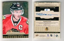 2014-15 UD Jonathan Toews Masterpiece Portraits painted sketch card #3/10