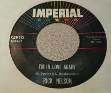 Rick Nelson ‎– That's All / I'm In Love Again ~ (VG+)