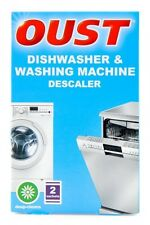 Oust Pack Of 2 Dishwasher & Washing Machine Deep Cleaning Descale