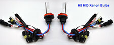 H8 5000K 35W HID Xenon Replacement 2 Bulb for Headlight Head lamps Light White