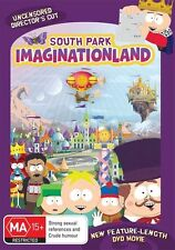 SOUTH PARK: IMAGINATIONLAND DVD R4 Uncensored Director's Cut