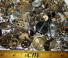 FREE EU USA SHIP 15g A Lot of Vintage Steampunk Watch Parts Pieces Gears Wheels