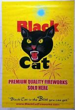 Original Black Cat Star Bursts Firecracker Poster Fireworks Labels 21 X 30 #2