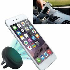 Car Magnetic Air Vent Mount Holder Stand for Mobile Cell Phone iPhone GPS S4