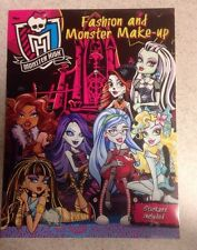 Monster High Activity Book Stickers Fashion And Monster Make-up 2015 NEW