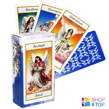 TAROT DE LOS ANGELES ANGELS CARDS DECK ESOTERIC ORACLE TELLING FOURNIER SPAIN