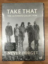 TAKE THAT - NEVER FORGET: THE ULTIMATE COLLECTION ~  UK DVD w/ Slipcover