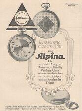 Y6532 ALPINA Uhren -  Pubblicità d'epoca - 1927 Old advertising